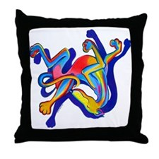 La Cucaracha Throw Pillow