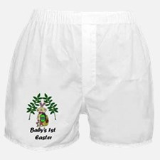 Babys1stEaster_png Boxer Shorts