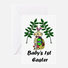 Babys1stEaster_png Greeting Card