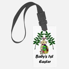 Babys1stEaster_png Luggage Tag