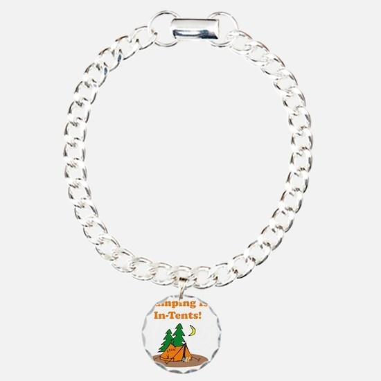 Camping InTents Orange Bracelet