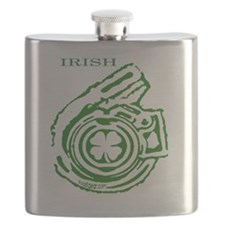 Boostgear St. Patricks Day  Black Shirt Flask