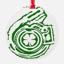Boostgear St. Patricks Day  Black S Ornament