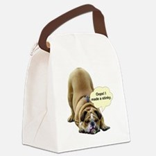 Stinky Canvas Lunch Bag