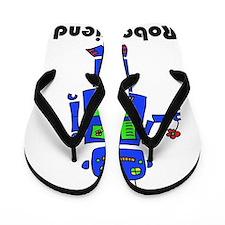 Robot_png Flip Flops