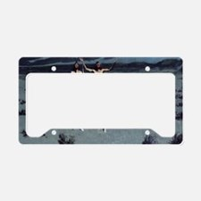 Pretty Mother of Night License Plate Holder