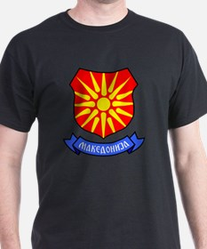 Macedonia Flag Crest T-Shirt