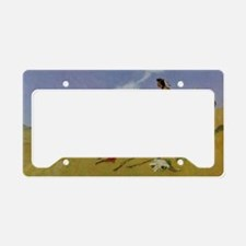 The Smoke Signal License Plate Holder