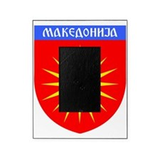 Macedonia Ray Crest Picture Frame