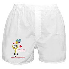Love@WishboneDay Boxer Shorts