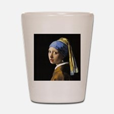 Girl With a Pearl Earring Shot Glass