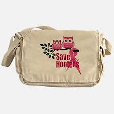 save the hooters2 Messenger Bag
