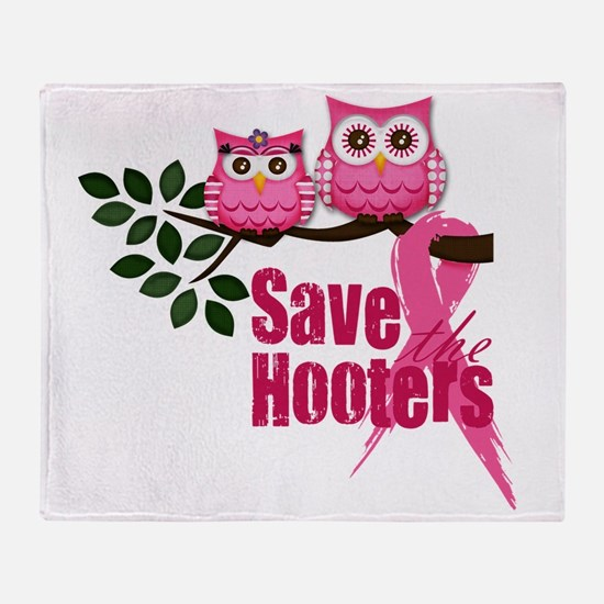 save the hooters2 Throw Blanket