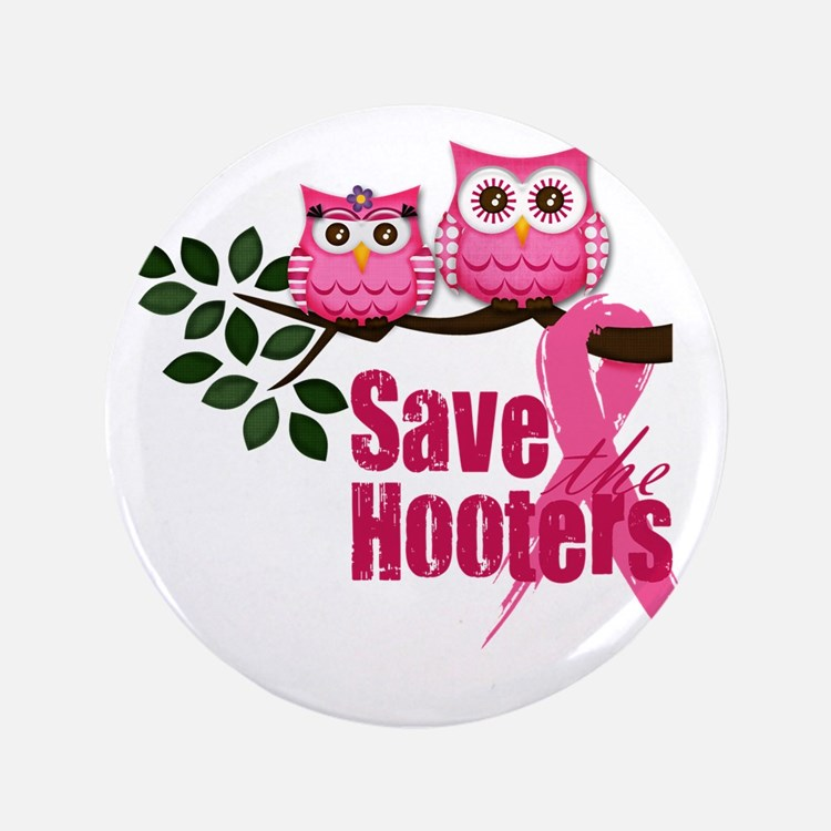 "save the hooters2 3.5"" Button"
