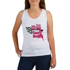 save the hooters2 Women's Tank Top