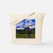 Cycling_the_Rockies Tote Bag
