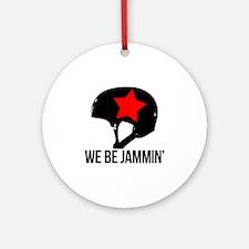 jammin copy Round Ornament