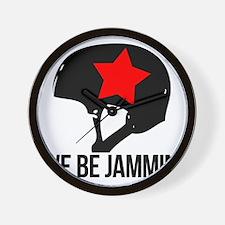 jammin copy Wall Clock