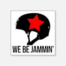 """jammin copy Square Sticker 3"""" x 3"""""""
