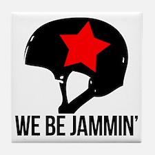 jammin copy Tile Coaster