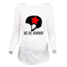 jammin copy Long Sleeve Maternity T-Shirt