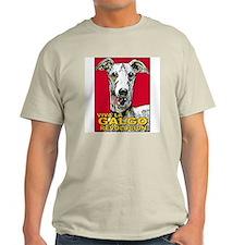 Viva La Galgo Revolucion Ash Grey T-Shirt