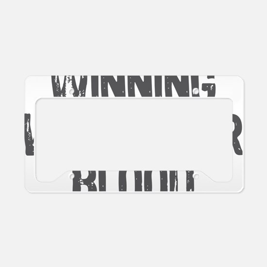 Winning With Tiger Blood 2 License Plate Holder
