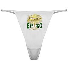 epicforblackshirt2 Classic Thong