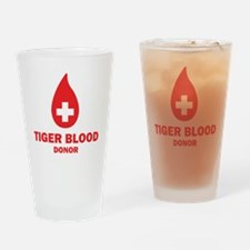 Tiger Blood Donor Drinking Glass