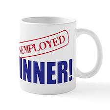 Unemployed_Winner Mug