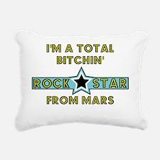 bitchin rockstar Rectangular Canvas Pillow
