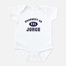 Property of jorge Infant Bodysuit