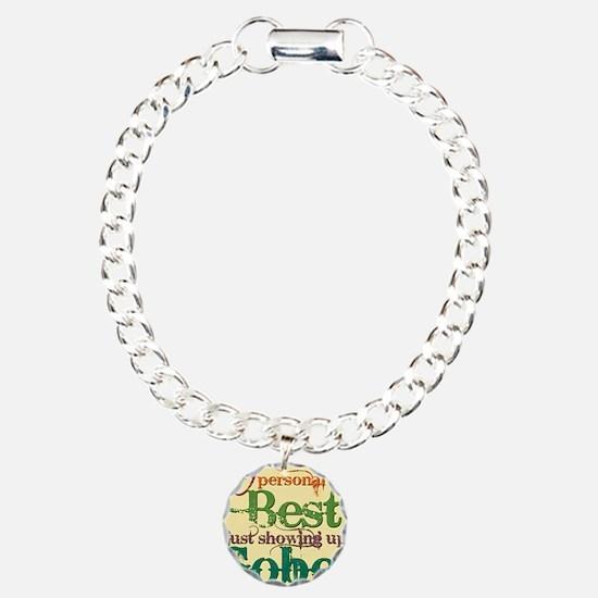 PERsonalBEST Charm Bracelet, One Charm