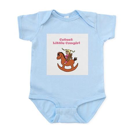 Cutest Little Cowgirl Infant Bodysuit