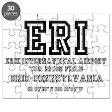 AIRPORT CODES - ERI - ERIE, PENNSYLVANIA Puzzle
