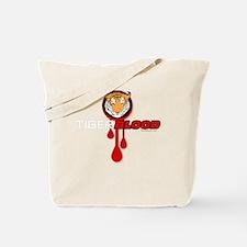 tigerbloodDARK Tote Bag