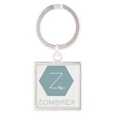 dr-zombrex-full Square Keychain