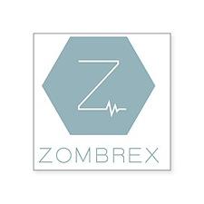 """dr-zombrex-full Square Sticker 3"""" x 3"""""""