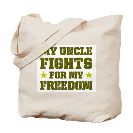 My Uncle Fights For Freedom Tote Bag