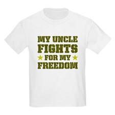 My Uncle Fights For Freedom Kids T-Shirt