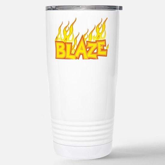 blaze Stainless Steel Travel Mug