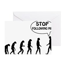 stop following Greeting Card