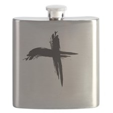 Ash Wednesday (Cross sq) Flask