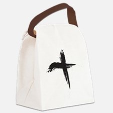 Ash Wednesday (Cross sq) Canvas Lunch Bag