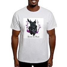 Born to Run Scottie Ash Grey T-Shirt