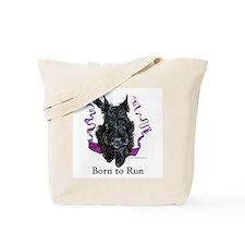 Born to Run Scottie Tote Bag