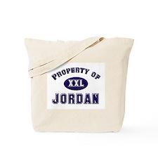 Property of jordan Tote Bag