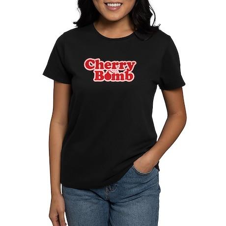 Cherry Bomb Women's Dark T-Shirt
