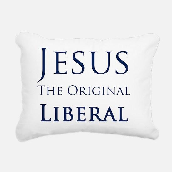 Jesus Rectangular Canvas Pillow