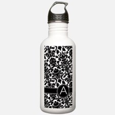 441_iphone_case_monogr Water Bottle
